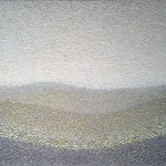 Untitled, 2008, oil on canvas, 630 x 850mm (Yellow)