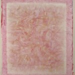 Untitled (pink), 2004 : Oils and acrylics on canvas, 1650 x 1350 mm