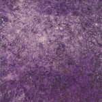 Untitled (purple glue), 2004 : Oils and glue on canvas, 1060 x 840mm
